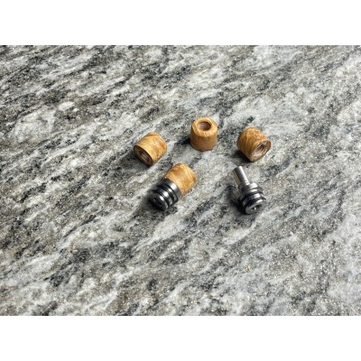 Drip Tip - The Swing - Stabilized wood Beige Caramel (sleeve) - SVT