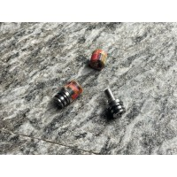 Drip Tip - The Swing - Stabilized wood Mix Colors (sleeve) - SVT