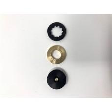 Guglielmo -  Kit Menelaus Brass - SVT Kit comprendente basetta piccola e nottolino Menelaus