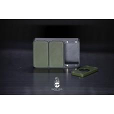 Save Boro Tank Box - Grigio con sportelli verdi - SVT