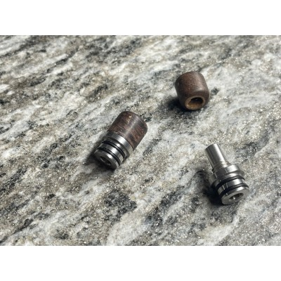 Drip Tip - The Swing - Stabilized wood  Brown (sleeve) - SVT